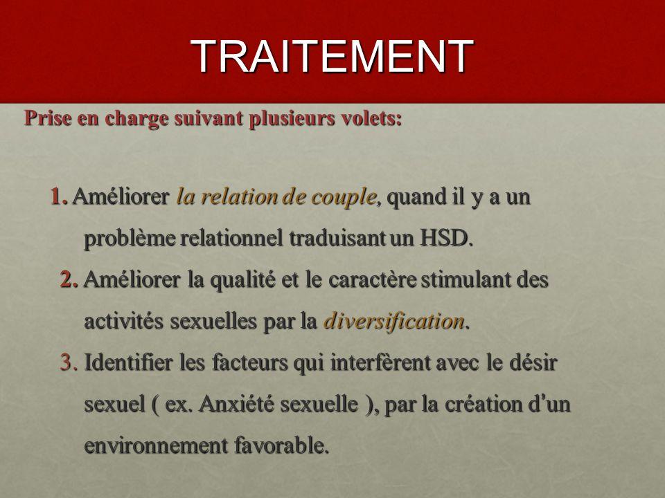 TRAITEMENT problème relationnel traduisant un HSD.
