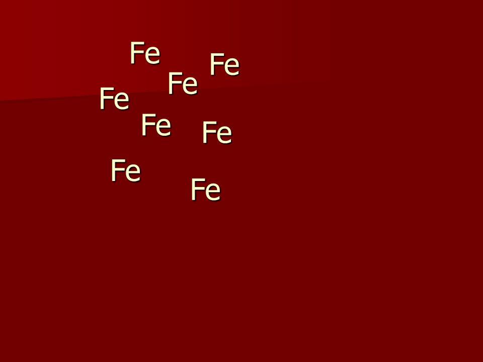 Fe Fe Fe Fe Fe Fe Fe Fe