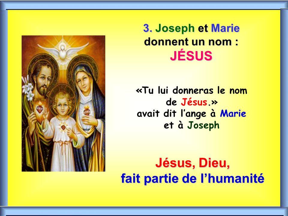 Jésus, Dieu, fait partie de l'humanité