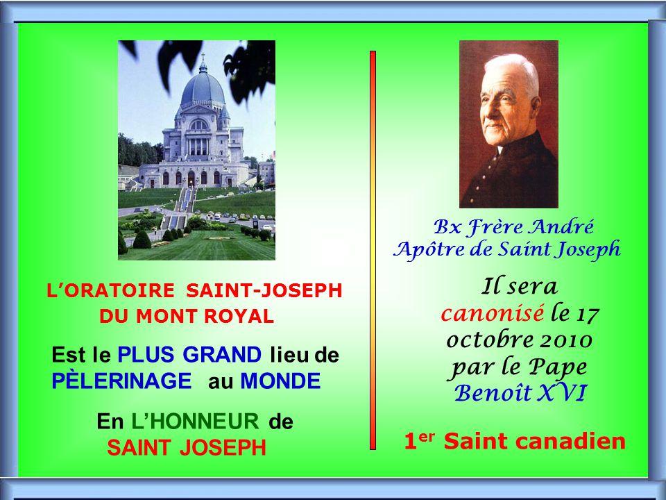 L'ORATOIRE SAINT-JOSEPH DU MONT ROYAL