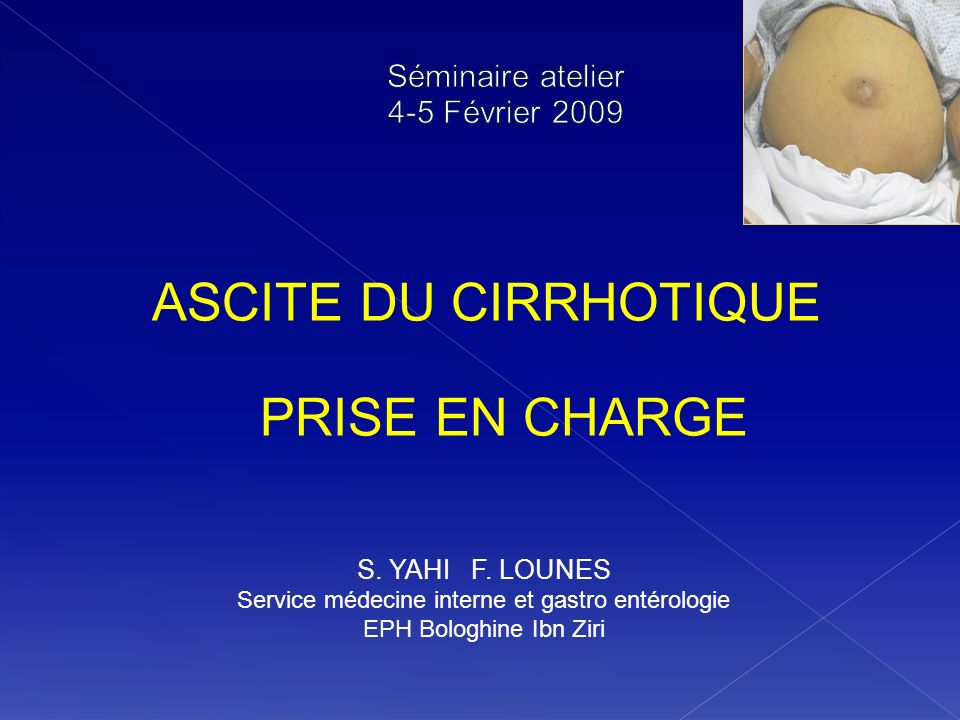 Séminaire atelier 4-5 Février 2009