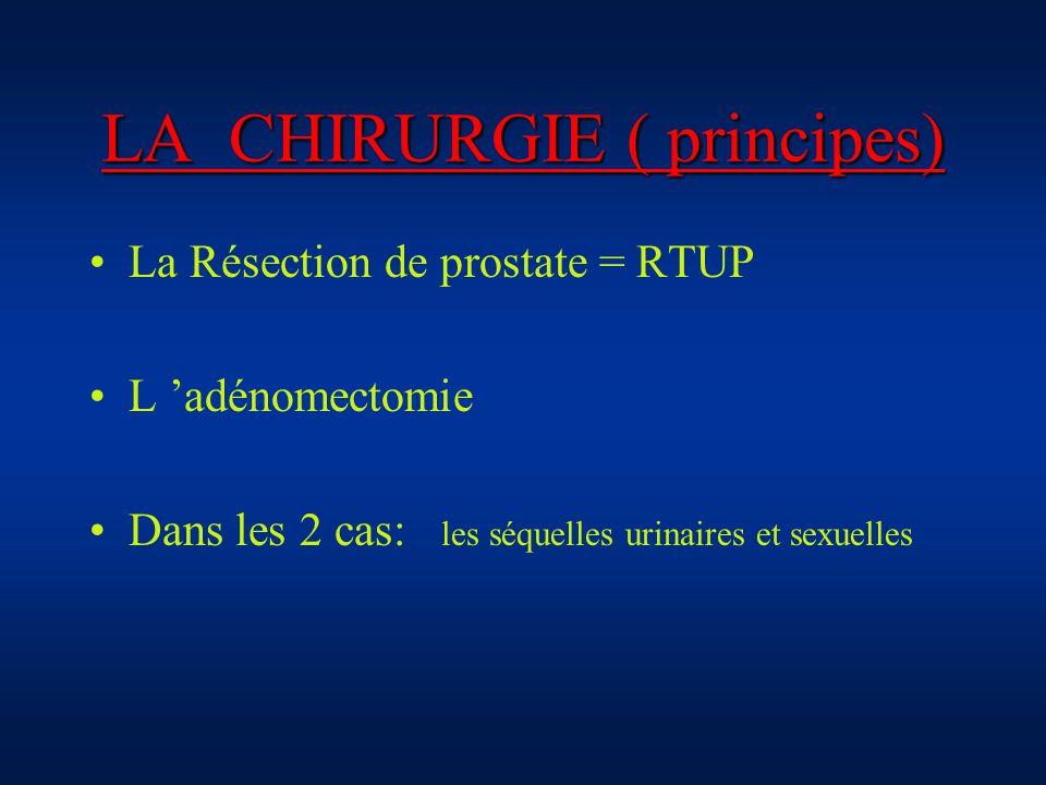 LA CHIRURGIE ( principes)