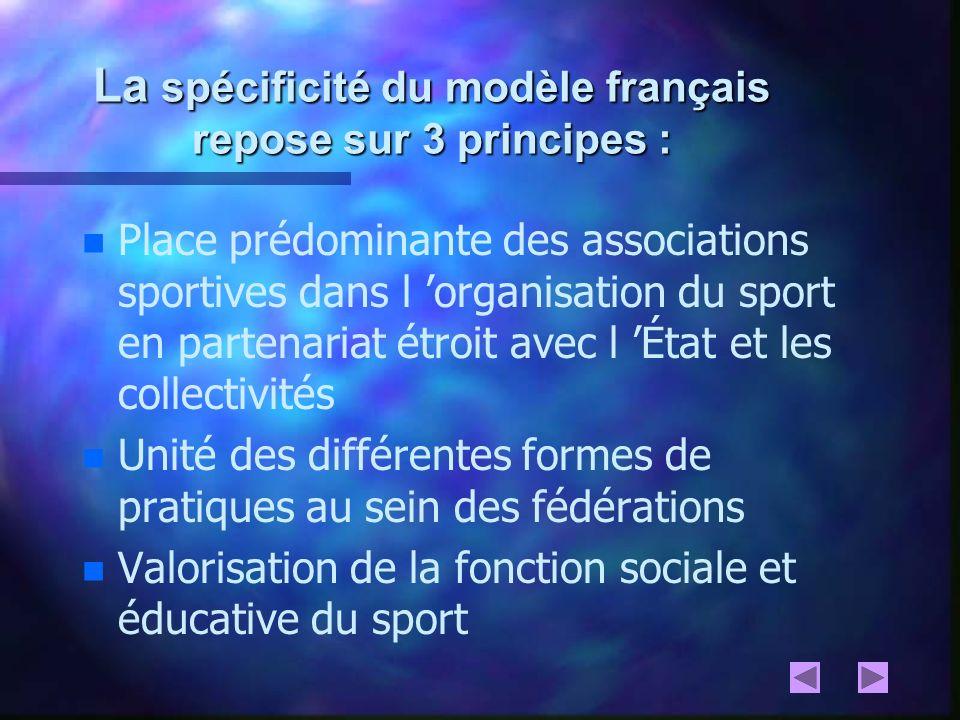 La spécificité du modèle français repose sur 3 principes :