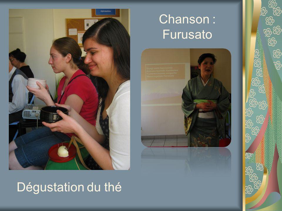 Chanson : Furusato Dégustation du thé
