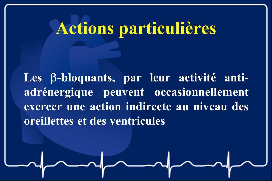 Actions particulières