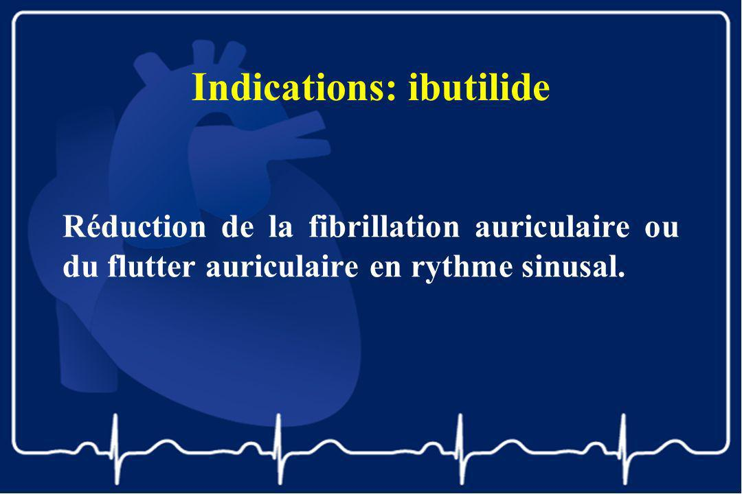 Indications: ibutilide