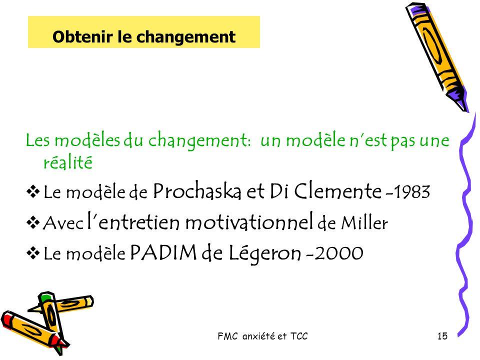 Les modèles du changement: un modèle n'est pas une réalité