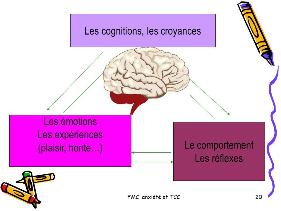 Les cognitions, les croyances