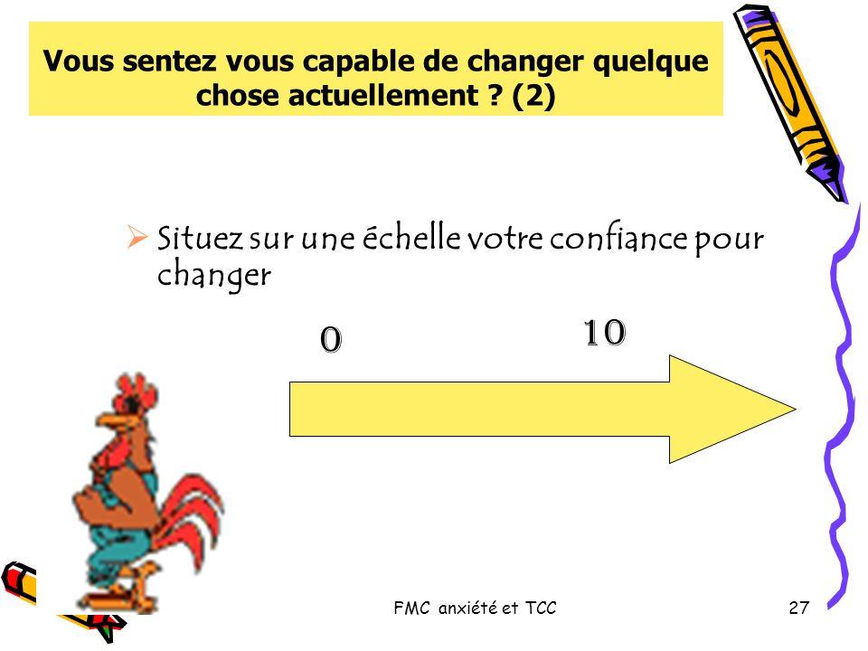 Vous sentez vous capable de changer quelque chose actuellement (2)