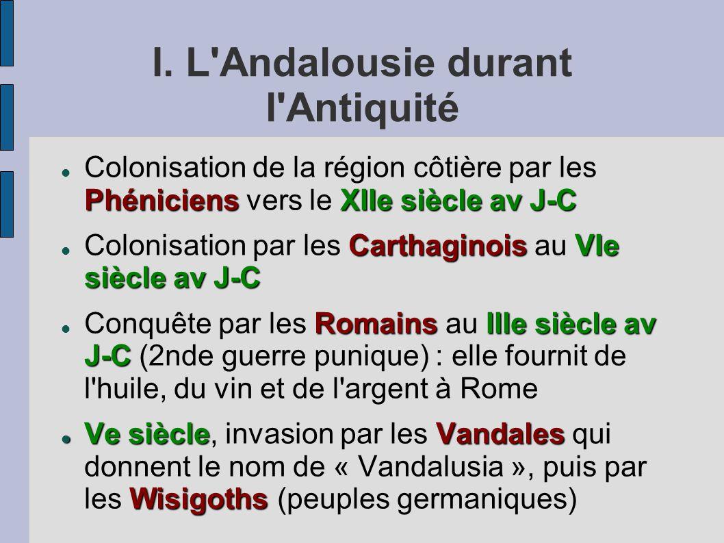 I. L Andalousie durant l Antiquité