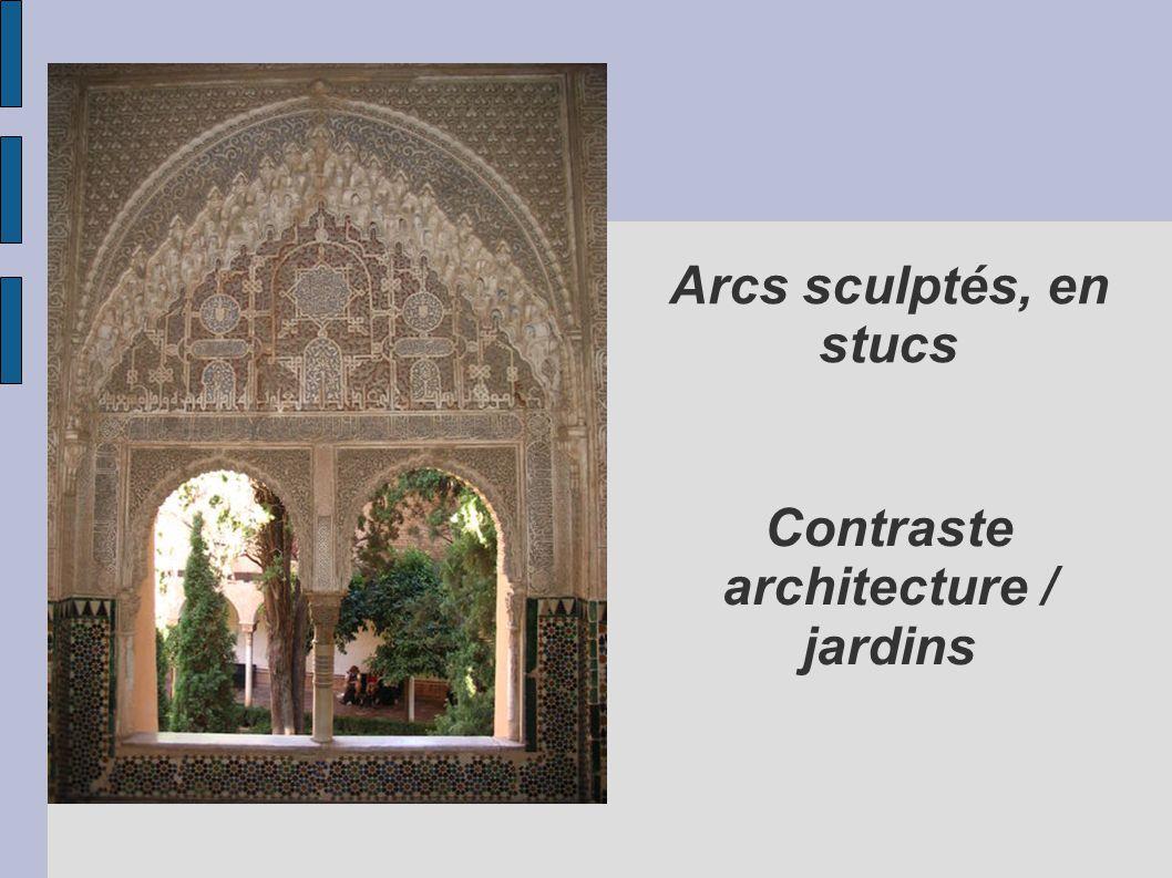 Contraste architecture / jardins
