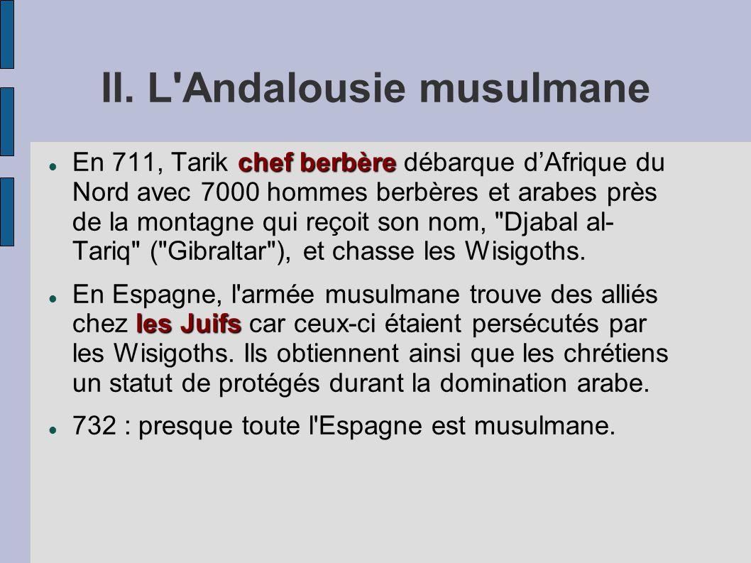 II. L Andalousie musulmane