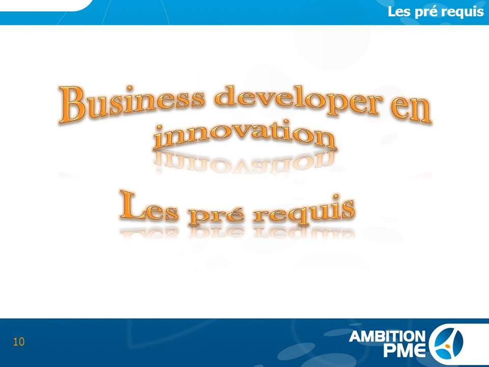 Business developer en innovation