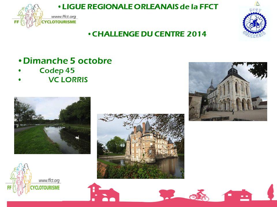 LIGUE REGIONALE ORLEANAIS de la FFCT