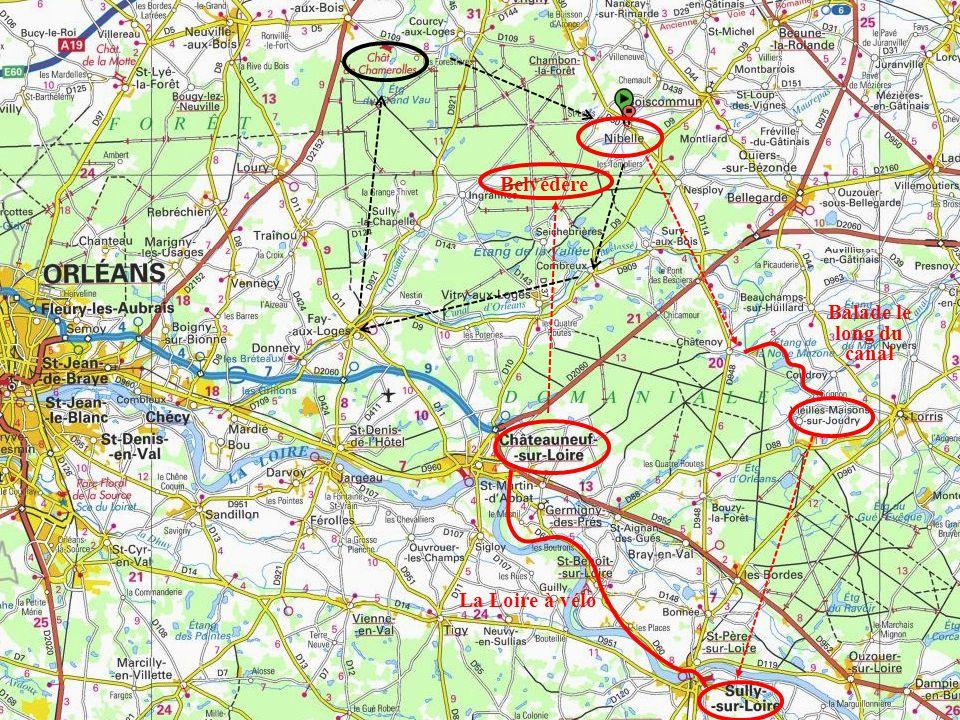 Belvédère Balade le long du canal La Loire à vélo
