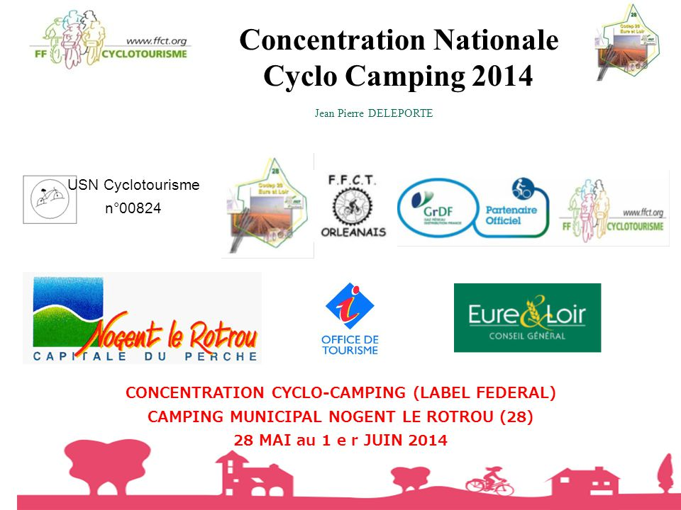 Concentration Nationale Cyclo Camping 2014