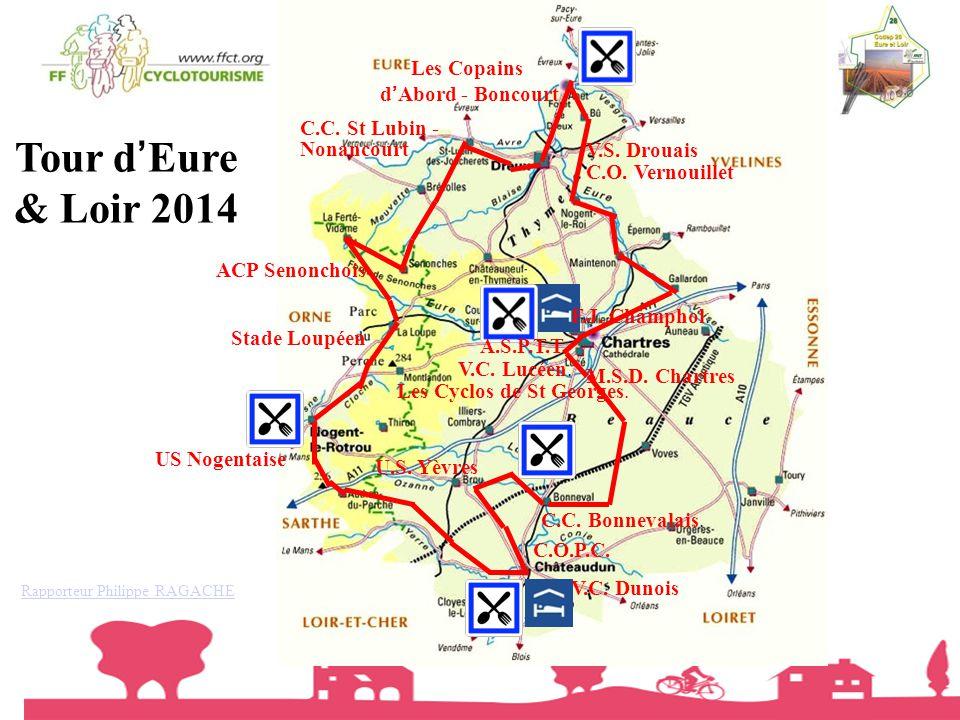 Tour d'Eure & Loir 2014 Les Copains d'Abord - Boncourt