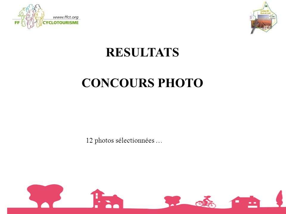 RESULTATS CONCOURS PHOTO