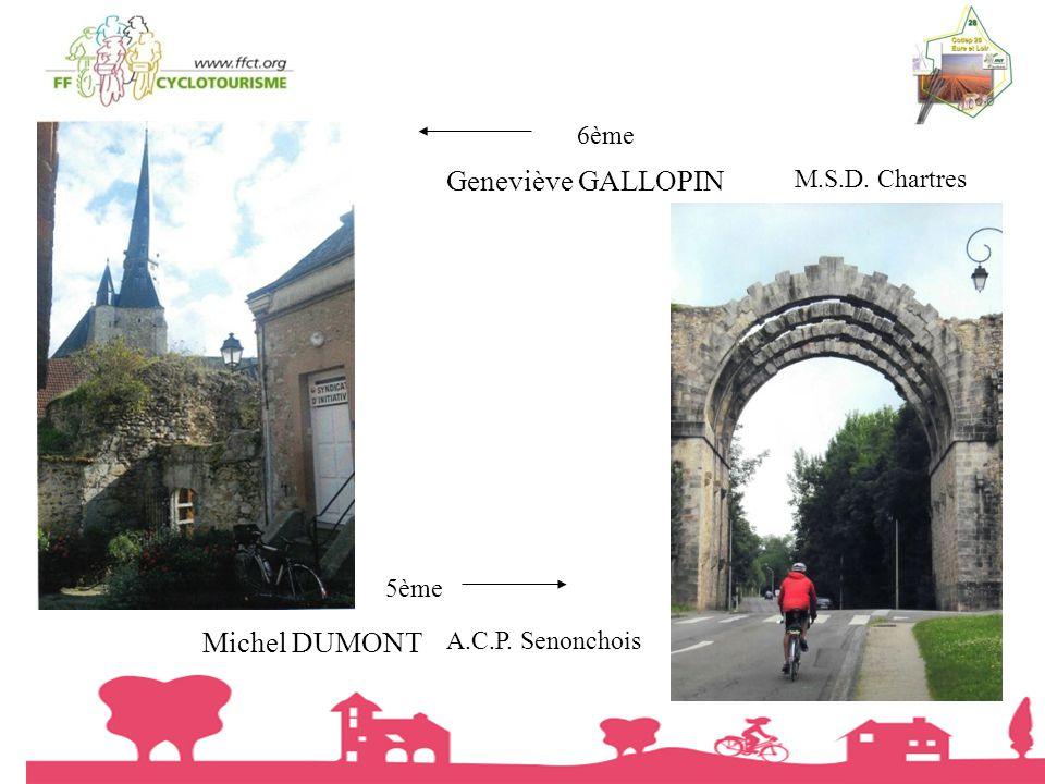 Geneviève GALLOPIN Michel DUMONT 6ème M.S.D. Chartres 5ème