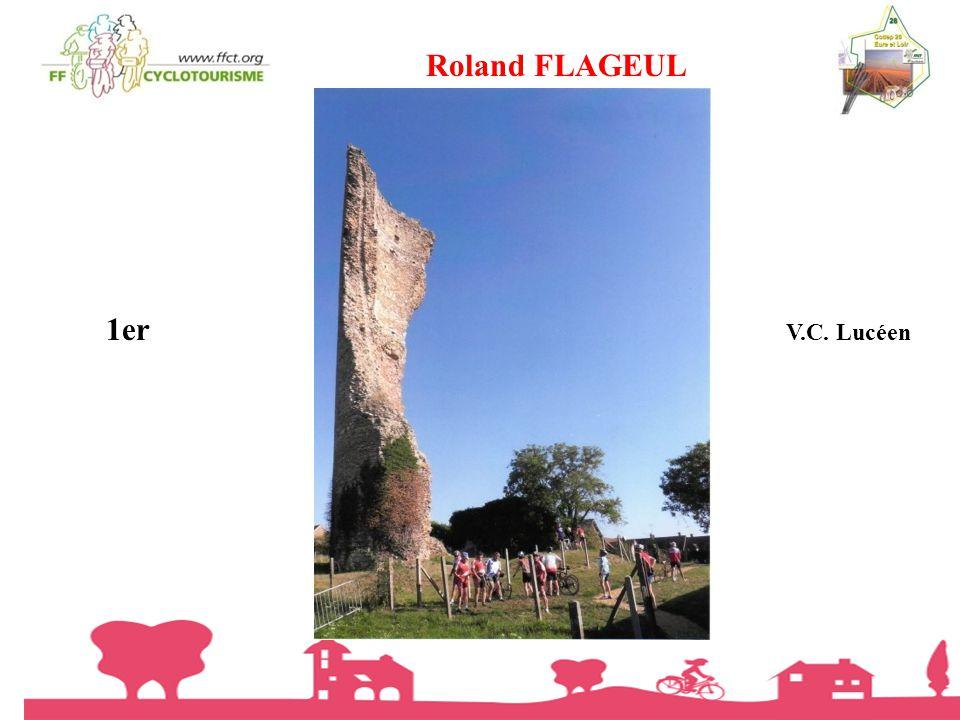 Roland FLAGEUL 1er V.C. Lucéen