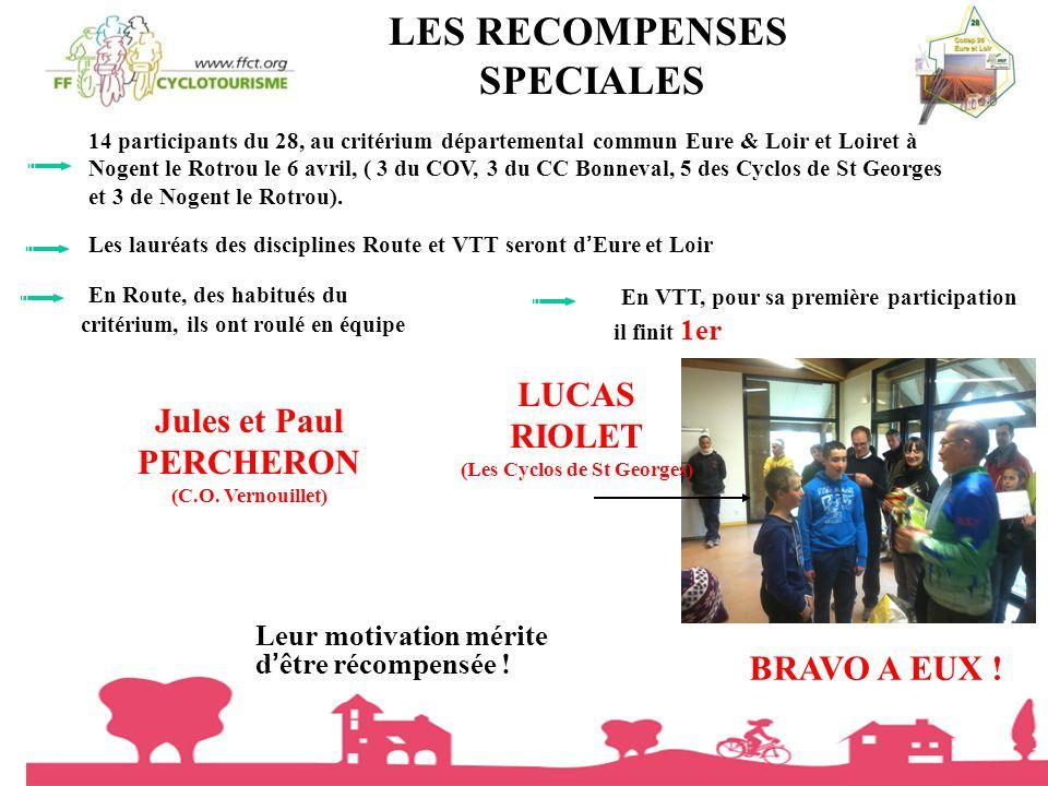 (Les Cyclos de St Georges)