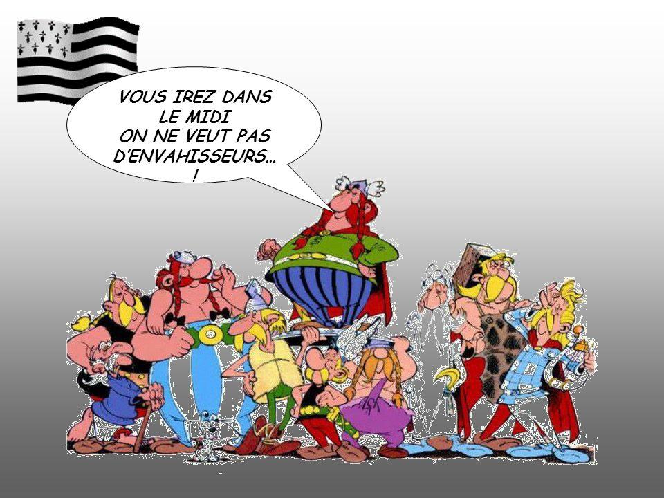 ON NE VEUT PAS D'ENVAHISSEURS…!