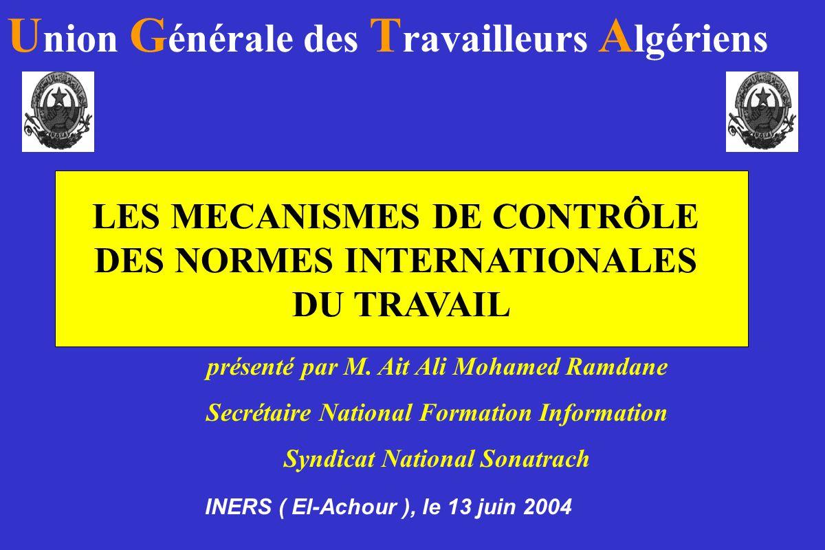 Union Générale des Travailleurs Algériens