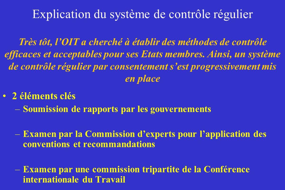 Explication du système de contrôle régulier