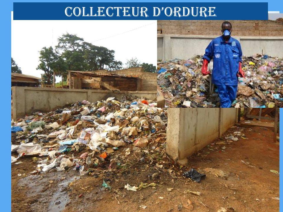 COLLECTEUR d'ORDURE