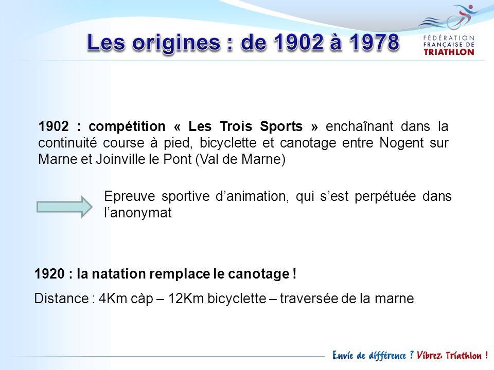 Les origines : de 1902 à 1978