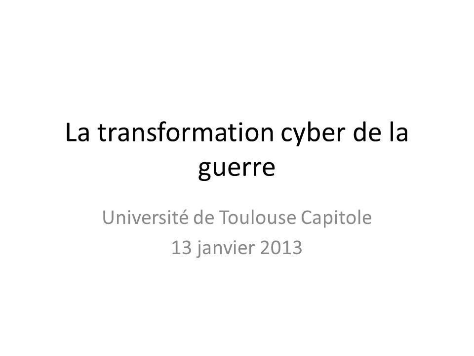 La transformation cyber de la guerre