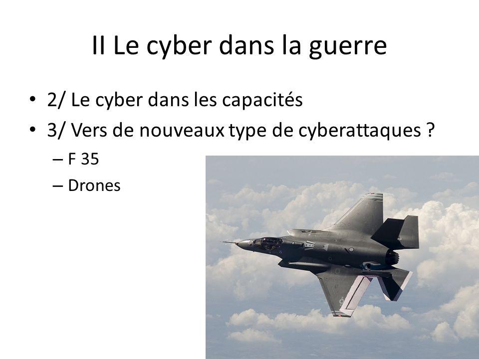 II Le cyber dans la guerre