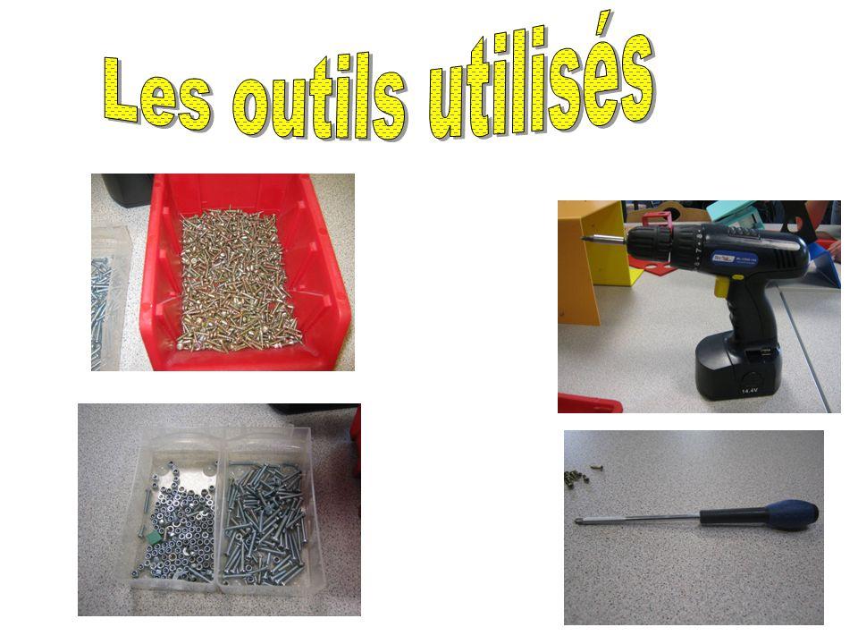 Les outils utilisés