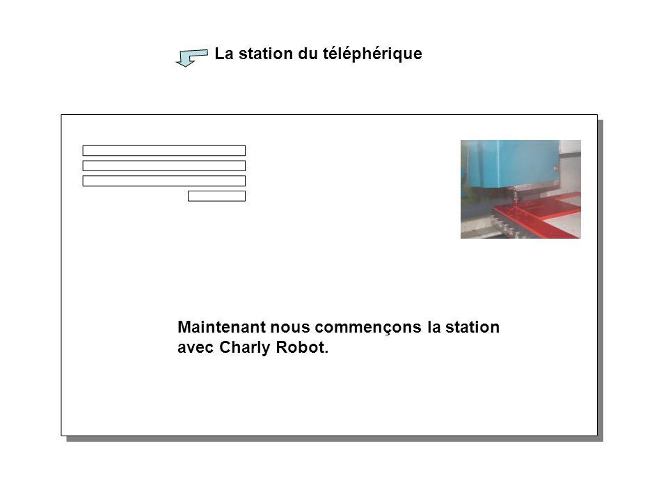 La station du téléphérique