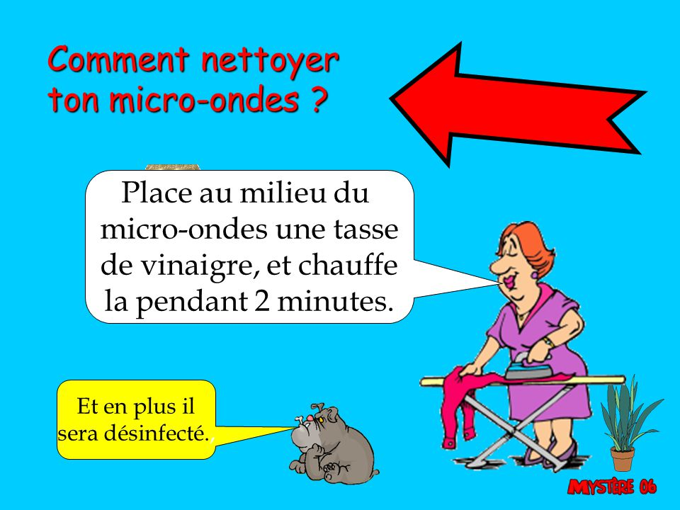 Comment nettoyer ton micro-ondes