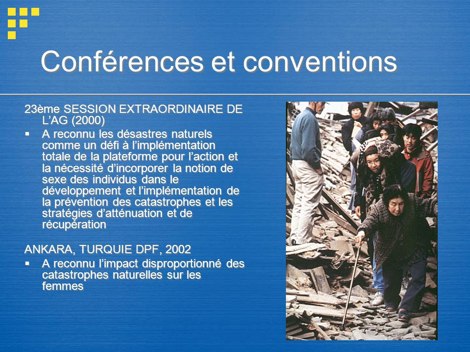 Conférences et conventions