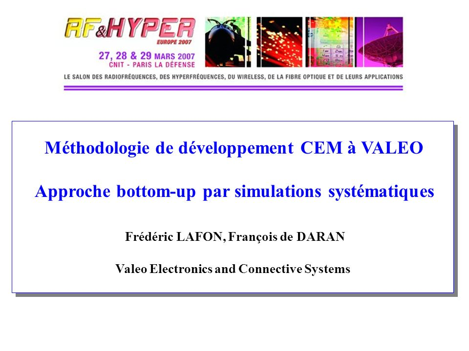 Valeo Electronics and Connective Systems