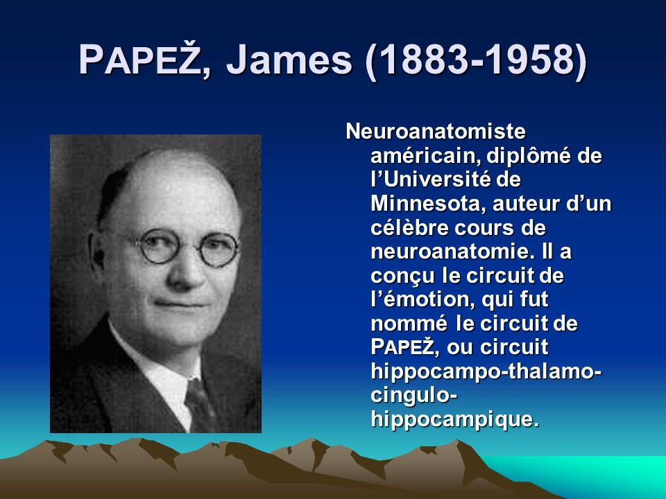 PAPEŽ, James (1883-1958)