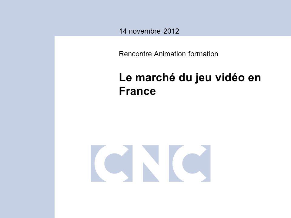 Le marché du jeu vidéo en France