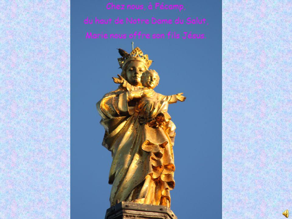 du haut de Notre Dame du Salut, Marie nous offre son fils Jésus.