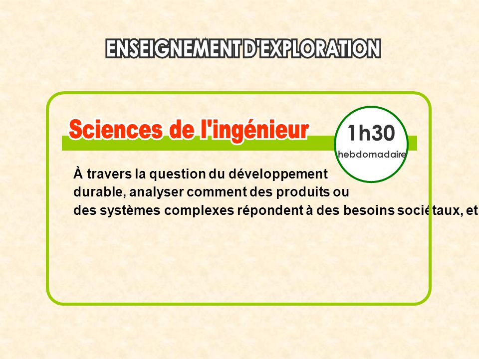1h30 À travers la question du développement