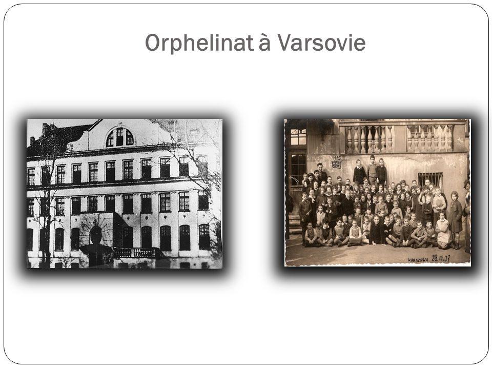 Orphelinat à Varsovie