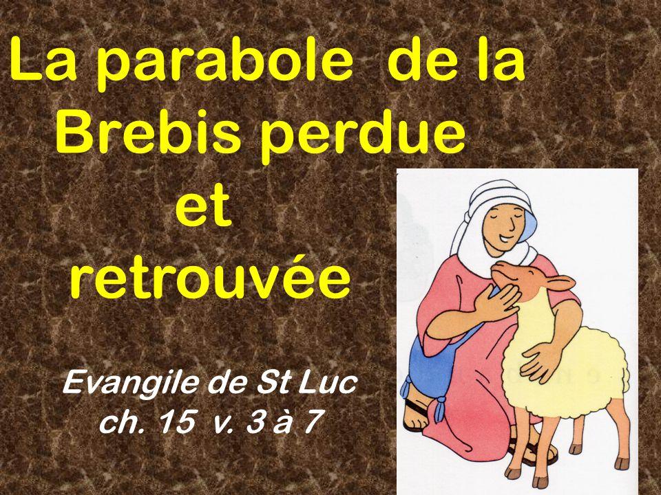 La parabole de la Brebis perdue et retrouvée