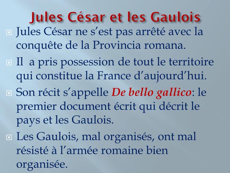 Jules César et les Gaulois