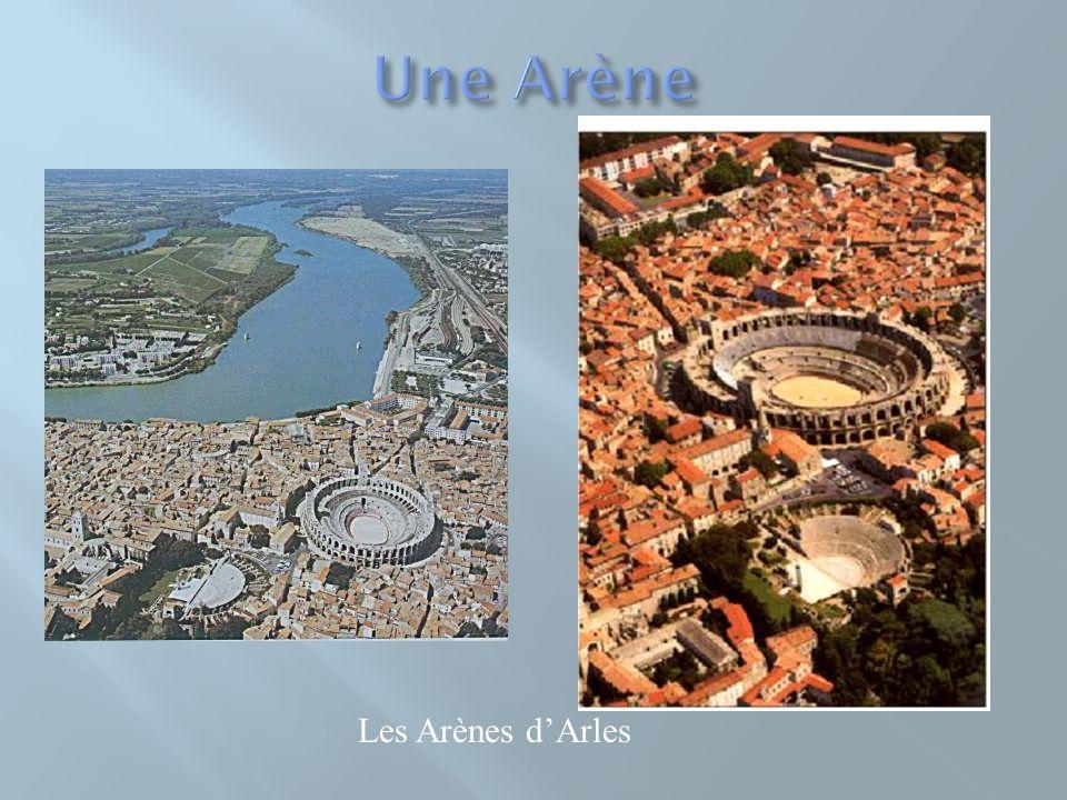 Une Arène Les Arènes d'Arles