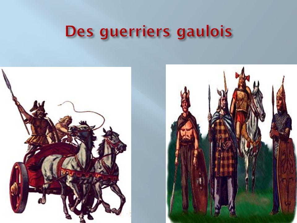 Des guerriers gaulois