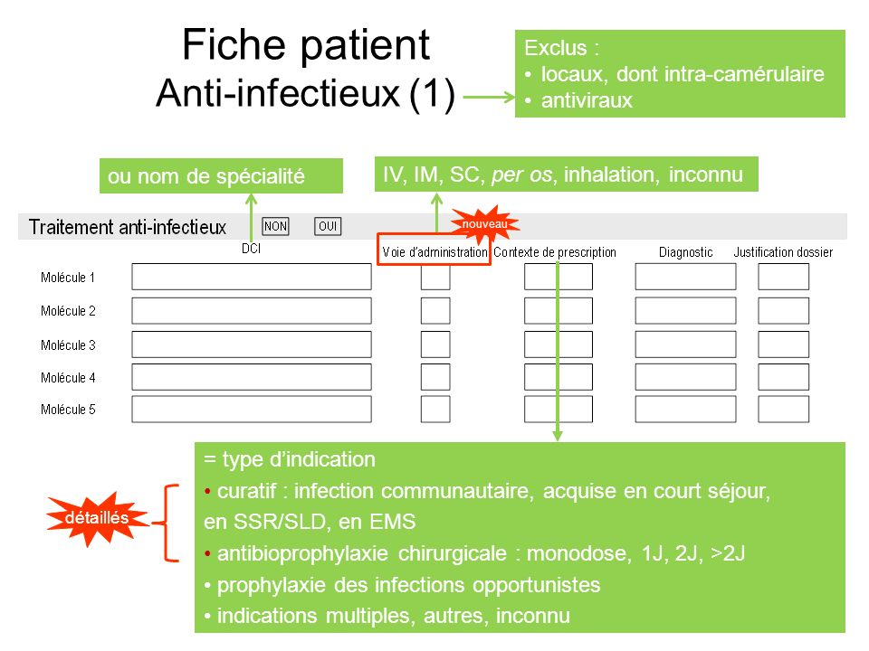 Fiche patient Anti-infectieux (1)