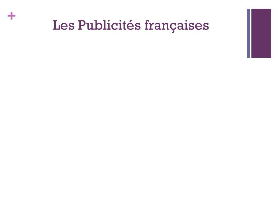 Les Publicités françaises