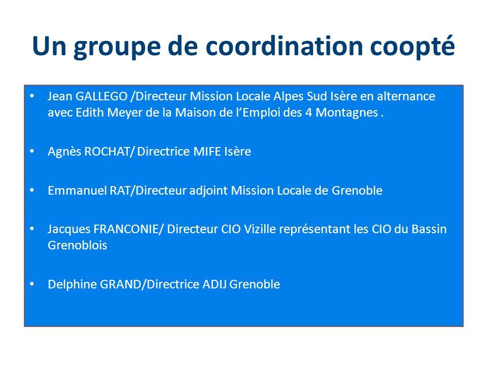 Un groupe de coordination coopté