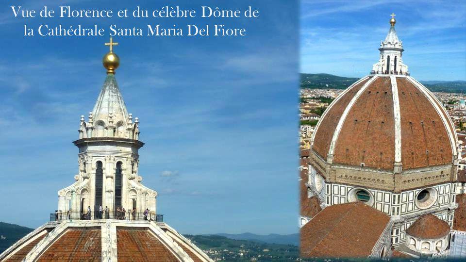 Vue de Florence et du célèbre Dôme de la Cathédrale Santa Maria Del Fiore